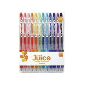 Pilot Juice Gel Ink Ballpoint Pen 0 38 Mm 12 Color Set lju 120uf 12c New