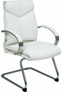 Deluxe Mid back Executive Leather Visitors Chair