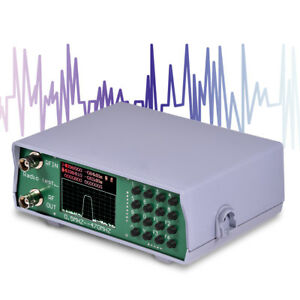 Uhf Vhf Dual Band Rf Spectrum Analyzer Tracking Source Radio Frequency Tester