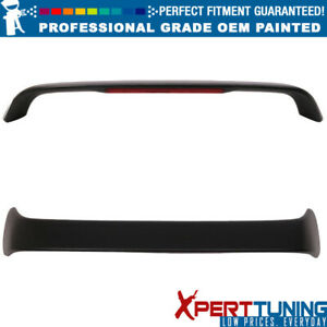Fits 94 01 Acura Integra Type R With Led Trunk Spoiler Oem Painted Color