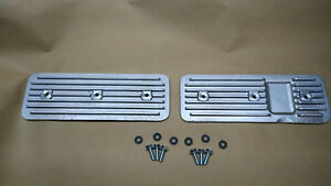 Finned Side Covers Chevy 194 230 250 Inline 6 Straight As Cast
