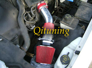 Red Air Intake Kit Filter For 1992 1995 Lincoln Town Car 4 6l V8