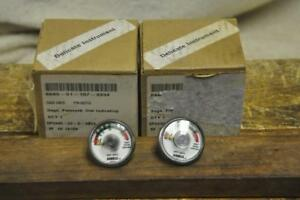 Tyco Fire Products Ansul Dial Indicating Pressure Gage 52743 Lot Of 2