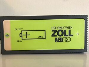 Brand New Zoll Aed Pro Battery Factory New In date Guaranteed Full Life
