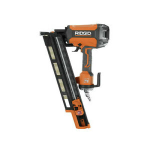 Ridgid Zrr350rhf 3 1 2 In Round head Framing Nailer Reconditioned
