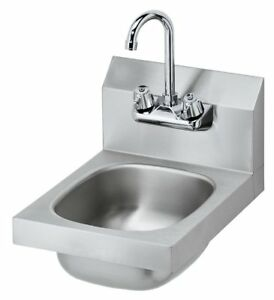 Stainless Steel Nsf Hand Sink 10 X 14