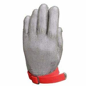 Anself Stainless Steel Mesh Knife Cut Resistant Protective Glove High Perfomance