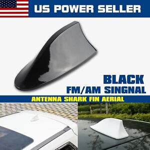 Shark Fin Antenna Aerial Car Fm Am Radio Signal Receiver Stereo Vortex Cover