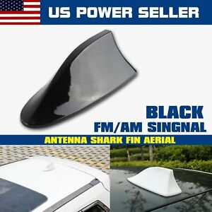 Shark Fin Car Roof Top Power Radio Am Fm Aerial Signal Antenna Fit Dodge