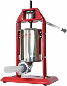 New Vivo Sausage Stuffer Vertical Stainless Steel 3l 7lb 5 7 Pound Meat Filler