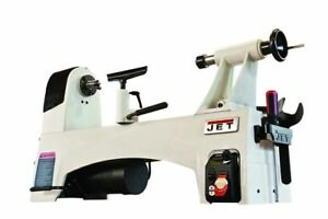 Jet Wood Lathe Benchtop 12 In X 21 In 1 Hp 115v Variable Speed Spindle Lock