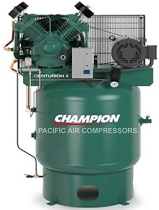 The Best Air Compressor 7 5hp Two Stage Single Phase 80gal Vertical New