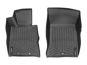 Weathertech Floorliner Mats For Hyundai Genesis Coupe 2009 2012 1st Row Black