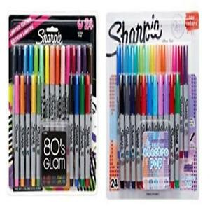 Sharpie Ultra fine Point Permanent Markers 80s Glam Electro Pop Colors Waterpr