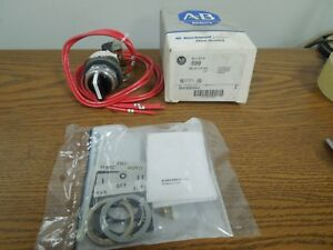 Allen bradley 599 ss09hj 3 Position Selector Switch Kit Hand off auto Sizes 0 9