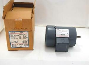 New Ao Smith Ac Electric Motor 1 Hp 200 230 460 Volts 1725 1425 Rpm H921