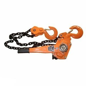 6 Ton Hand Operated Manual Chain Lever Lift Hoist Block Comealong Winch Puller