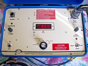 Biddle 10 Amps Current Injection Transformer Winding Resistance Model 247150