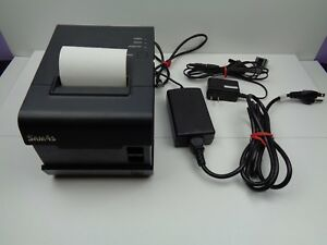 Sam4s Ellix 20s Pos Thermal Receipt Printer With Power Supply