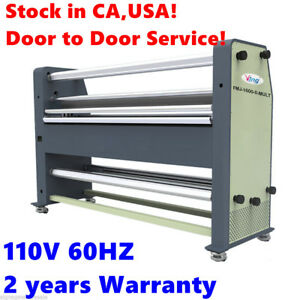 Usa Stock 110v 60hz 63 New Type Full Auto Wide Format Hot Cold La
