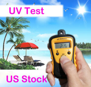 Handheld Digital Lcd Light Uv Strength Tester Meter Photometer Uv Detector Us
