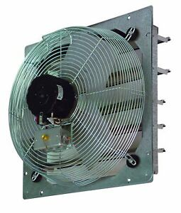 Tpi Corporation Ce14 ds Direct Drive Exhaust Fan Shutter Mounted Single Phase