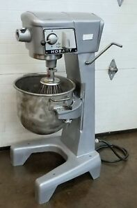 Hobart D 300 30 Qt Dough Bakery Pizza Mixer 1 Phase 115 v Whip 30 qt 3 Speed