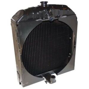 Radiator Made With Cast Bottom Allis Chalmers Wc W Wd Wd45 70228587