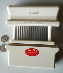 Manual Mechanical Meat Tenderizer Stainless Blades Jaccard Corp Buffalo N y usa
