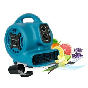 Xpower P 260at Mini Scented Air Mover Carpet Dryer Utility Fan Blowing 800 Cfm