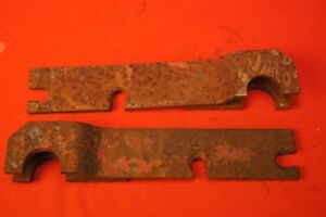Ih Mccormick Farmall Super A 151 2 Pan Disc Turning Plow Mounting Bracket Pair
