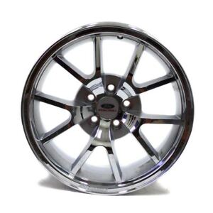 18 Ford Racing Mustang Cobra Chrome New Wheel Oem 1994 2004