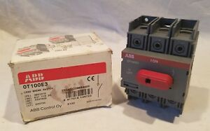 Abb Load Break Switch Box 1sca022398r4400 0t100e3p