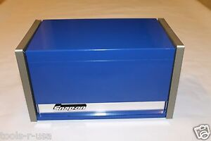 Snap On Royal Blue Mini Micro Top Chest Tool Box Rare Brand New