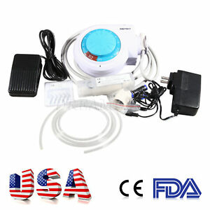 Dental Ultrasonic Piezo Scaler W Handpiece Tips Fit Ems woodpecker Dentist Tisi