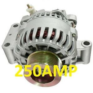 High Output 250amp Alternator Ford Excursion V8 6 0l Diesel 2003 2005