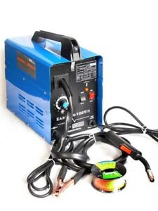 Portable 110 Volt Electric 100 Amp Mig Wire Feed Fed Welding Welder Machine Flux
