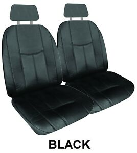 Pair 16oz Waterproof Leather Look Seat Covers For Mg Mga Rwd Coupe