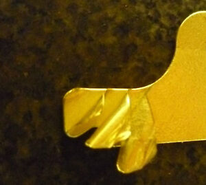 South Bend 14 5 14 1 2 Laminated Brass Shims Made In America U s a