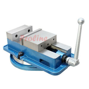 6 Accu Lock Precision Vise W Swivel Base Milling Drilling Machine Bench Clamp