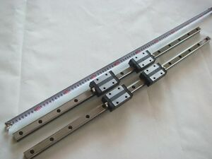 Thk Ssr25 Linear Bearings Rails L820mm Router Cnc Nsk 2
