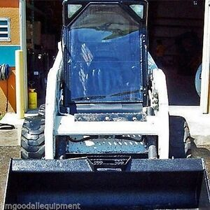 Bobcat Front Door Vinyl Door Only Fits F Series 751 753 763 773 863 873