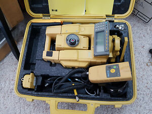 Topcon Robotic Gpt 8205a Total Station