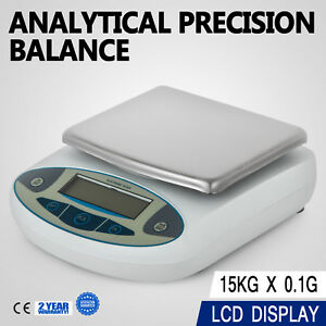 15kg X 0 1g 33lb Lab Balance Electronic Scale Diet Digital Precision