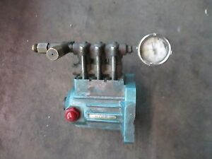 Cat 2sf29els amk Triplex High Pressure Plunger Pump