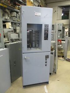 Zenith 150 Amp 3 480 Volt Automatic Transfer Switch Bypass Ats289