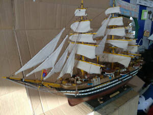 Wooden Handcrafted Model Ship 38 Limited High Museum Quality Amazing Detail