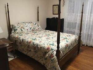 Antique Four Poster Bedroom Suit Full Size 350 00 Asheboro