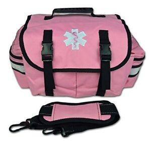 Pink Small Emt Medic First Responder Trauma Ems Jump Bag W Dividers 20p