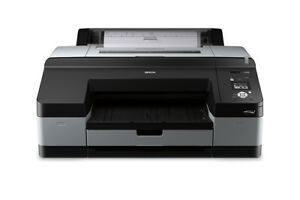 Epson Stylus Pro 4900 Large Format Inkjet Printer With Cartridges Epson Refurb